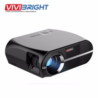 VIVIBRIGHT LED Projector GP100 1280x800 Resolution 3200 Lumens Support Full HD Pro Consumer Projector Multimedia Player