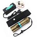 6000lm Дайвинг XM-L2 мини led фонарик прожектор Водонепроницаемый dive Лампы Факел Портативный Фонарь освещения Зарядное устройство