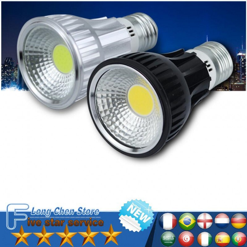 LED BULB COB lighting Dimmable E27 GU10 E14 B22 LED COB Spotlight Ultra Bright 12W 15W 20W 25W Spot Light Bulb high power lamp
