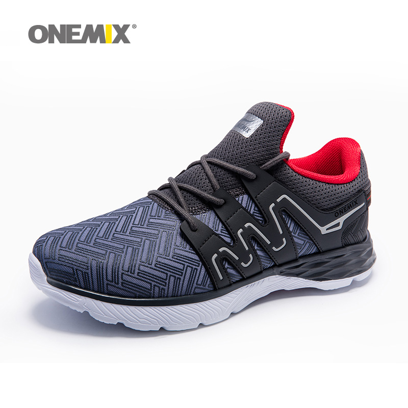 Onemix Men Running Shoes Male Sport Sneaker Light Jogging Shoes for Boy Athletic Sneakers Breathable Outdoor