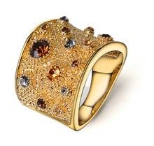 Hyperbole Party Irregular Luxury Brand Rings For Women Wedding Bands Womens Jewellery