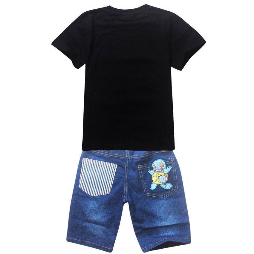 brim terno para meninos meninas camisetas de algodão conjuntos