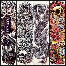 Popular Skull Sleeve Tattoo Designs For Men Buy Cheap Skull Sleeve