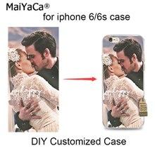 MaiYaCa Уникальный индивидуальный DIY Печать Мягкий чехол для телефона из ТПУ чехол для iPhone 8 8Plus 7 6s Plus SE 5 5S 4S X