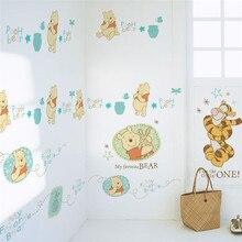 Disney Winnie Pooh Muurstickers Kinderkamer Nursery Home Decor Cartoon Dieren Muurstickers Diy Muurschilderingen Pvc Posters