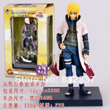 High Quality Pop Naruto PVC Namikaze Minato action figure For Christmas gifts