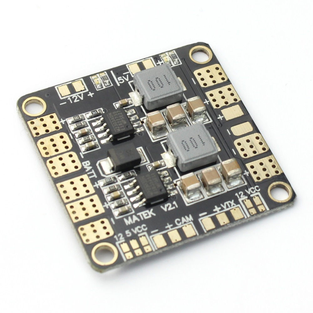 Mini Power Hub Power Distribution Board PDB with BEC 5V & 12V for FPV 250 ZMR250 Multicopter Quadcopter F16892