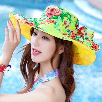 Moda para mujer de verano sombrero sombreros de sol para las damas