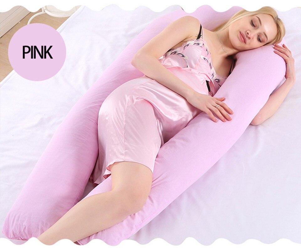 Bedding Pillows U Shape Pregnancy Pillow Full Body Maternity Pillow Comfort Sleeping Support Pillow For Pregnant Women Body _26_
