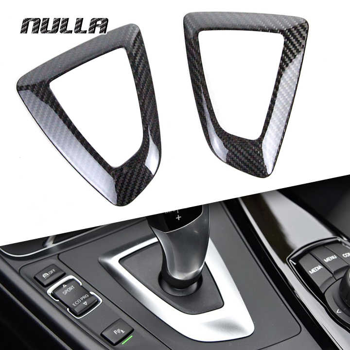 Carbon Fiber Gear Surround Cover For BMW 1 2 3 4 Series F20 F30 F32 F36 Only RHD