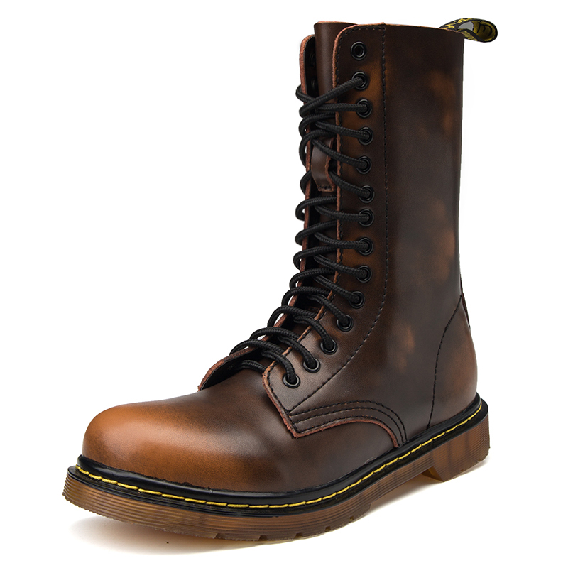 High Quality Genuine Leather Men Boots Winter Waterproof Boots Riding Boots Outdoor Working Snow Boot Lady size Men size BothHigh Quality Genuine Leather Men Boots Winter Waterproof Boots Riding Boots Outdoor Working Snow Boot Lady size Men size Both