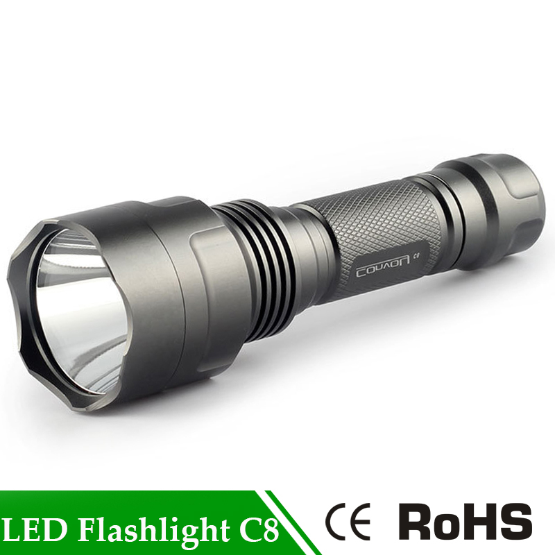 Convoy C8 Super Bright Led Flashlight Led Flash Light Torch Lanterna Light For Camping Hunting Self Defense Use By 18650 Battery tt tf ths 02b hybrid style black ver convoy asia exclusive