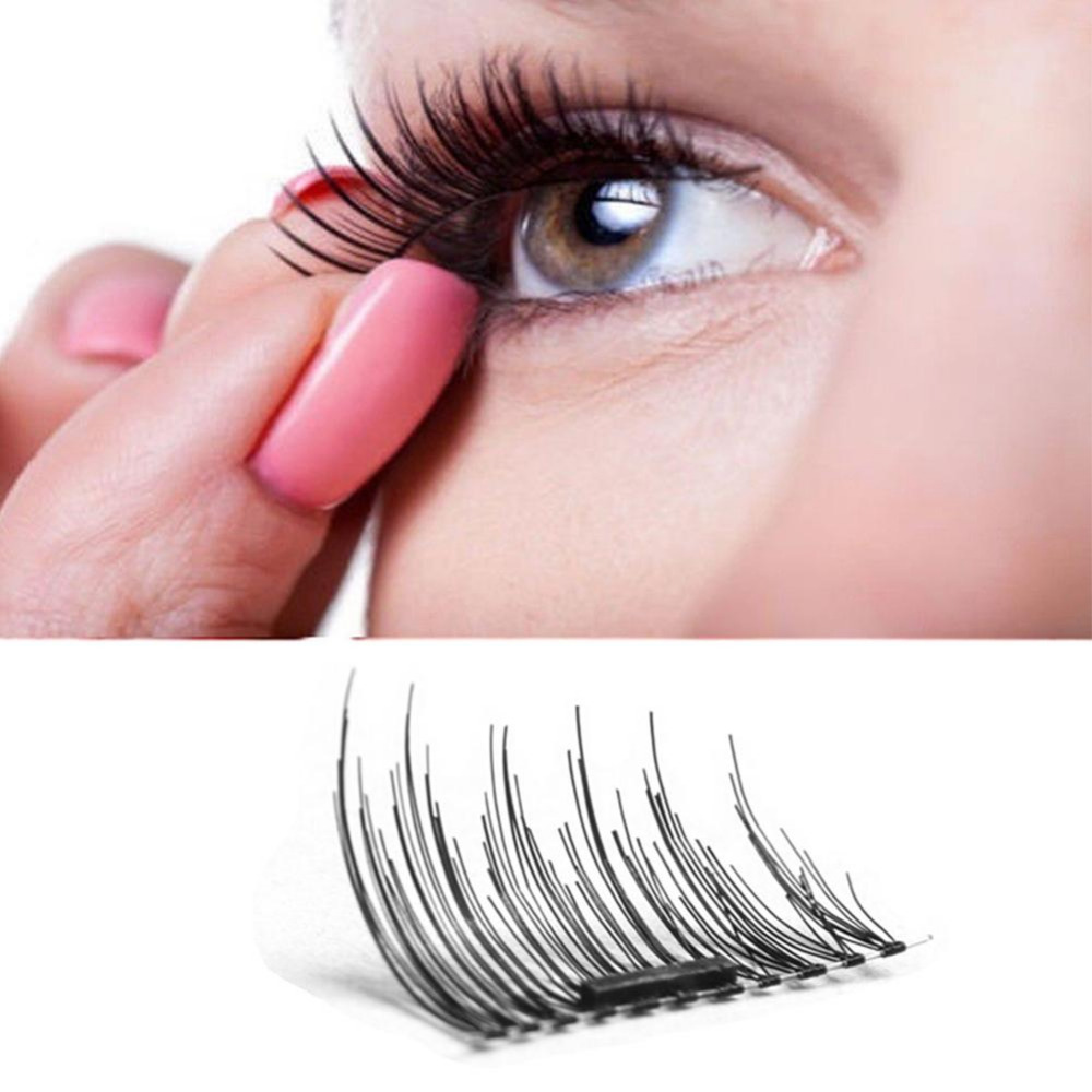 1 Pairs Magnetic Eyelashes Extension Eye Beauty Makeup Accessories Soft Hair Magnetic Eyelashes Dropship False Eyelashes