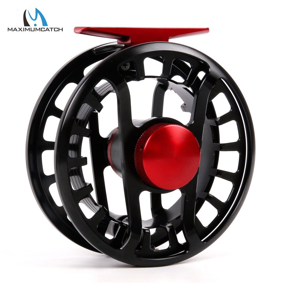 Maximumcatch FMD 5-13wt Fly Reel 100% Totally Waterproof Super Light Fly Fishing Reel Saltwater and Freshwater Fishing Reel maximumcatch hvc 7 8 weight exclusive super light fly reel chinese cnc fly fishing reel large arbor aluminum fly reel