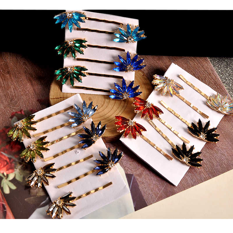 New fashion ladies jewelry wholesale girls sweet romantic cute strips beautiful beautiful hair accessories hairpin free shipping