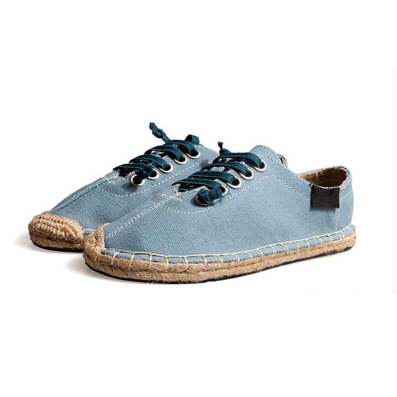 340d06ba4 Creepers Espadrilles Low To Help Mens Designer Shoes Men Summer Breathable  Mens Dress Shoes Creepers Men Espadrilles-in Women's Flats from Shoes on ...