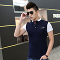 Men Polo Shirts 2017 Summer Men New Breathable Slim Polo Men Modal Men's Short Sleeve Cotton Polo Shirts L - Xxxl
