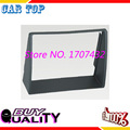 High quality free shipping 2din size car Radio Fascia for GEELY Vision 2008 Stereo Facia Facplate Installation Trim Kit frame
