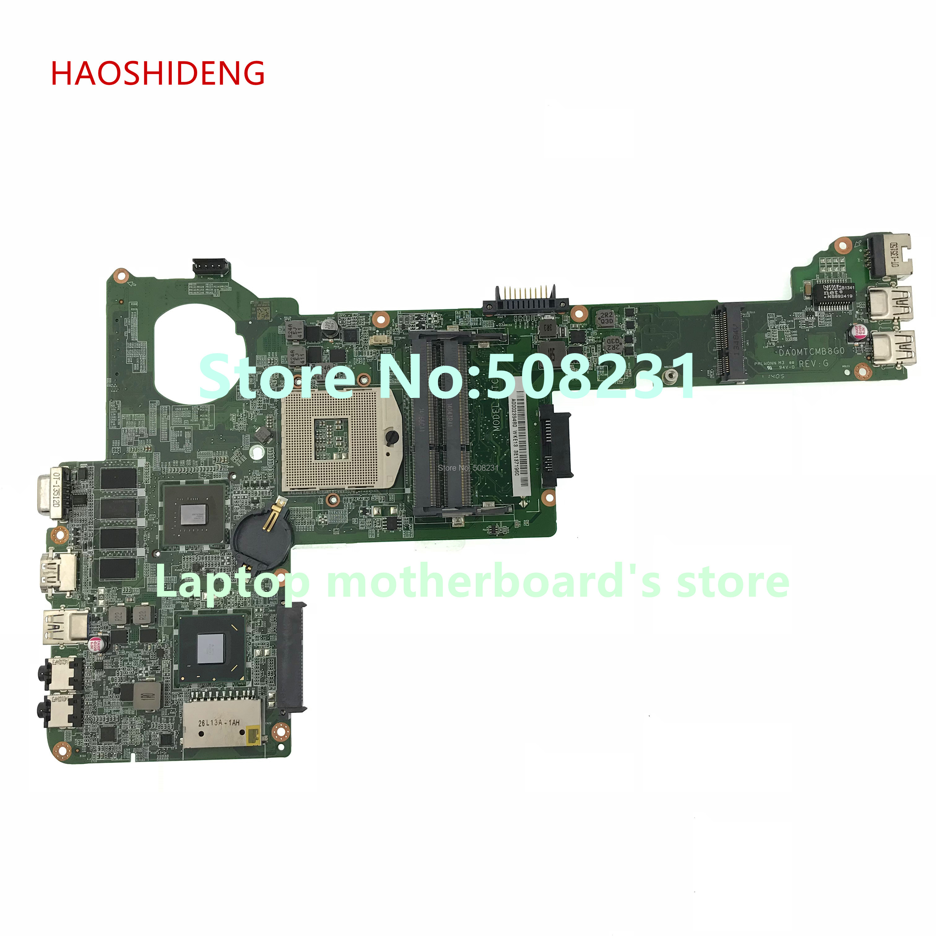 HAOSHIDENG A000239480 DA0MTCMB8G0 For Toshiba Satellite C40 C40-A Laptop Motherboard with GeForce GT710M+HD4000 fully Tested