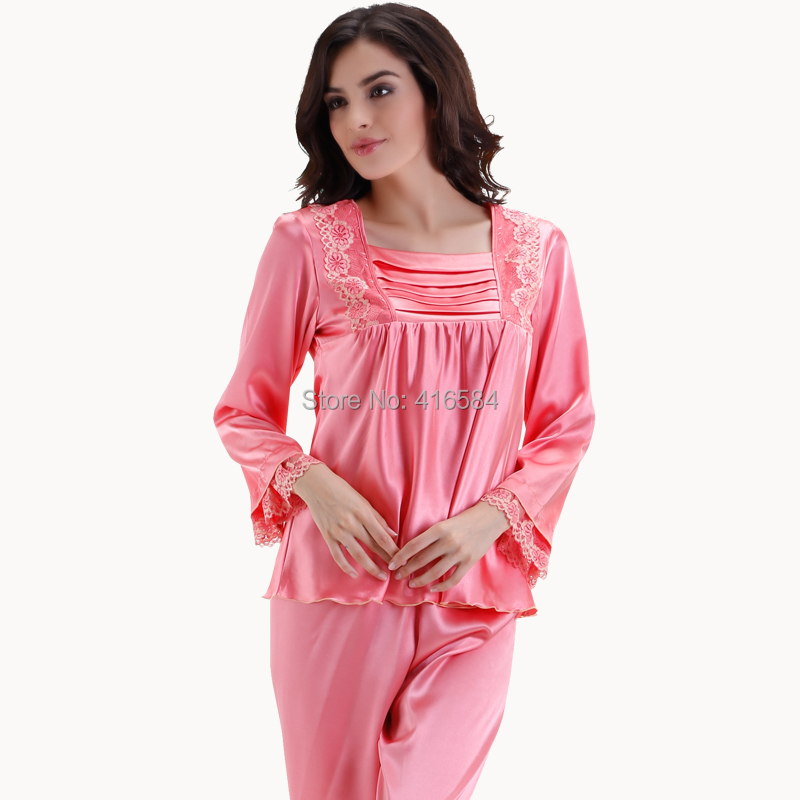 Compare Prices on Pink Satin Pajamas- Online Shopping/Buy Low ...
