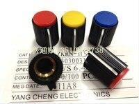 [vk]T plastic Bakelite knob 115B  aperture 13*15 6.4MM suitable instrumentation surfaces switch cap