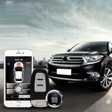 Car Alarm Most Convenient Keyless Entry System Autostart Auto With Antenna Start Stop PKE Key Fob