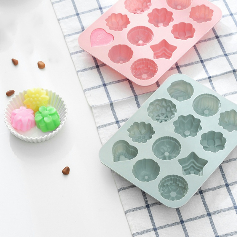 Chocolate Cupcake Cake Mold DIY Baking Decorative Cake Mould Kitchen Tool Cookie Tools(China)