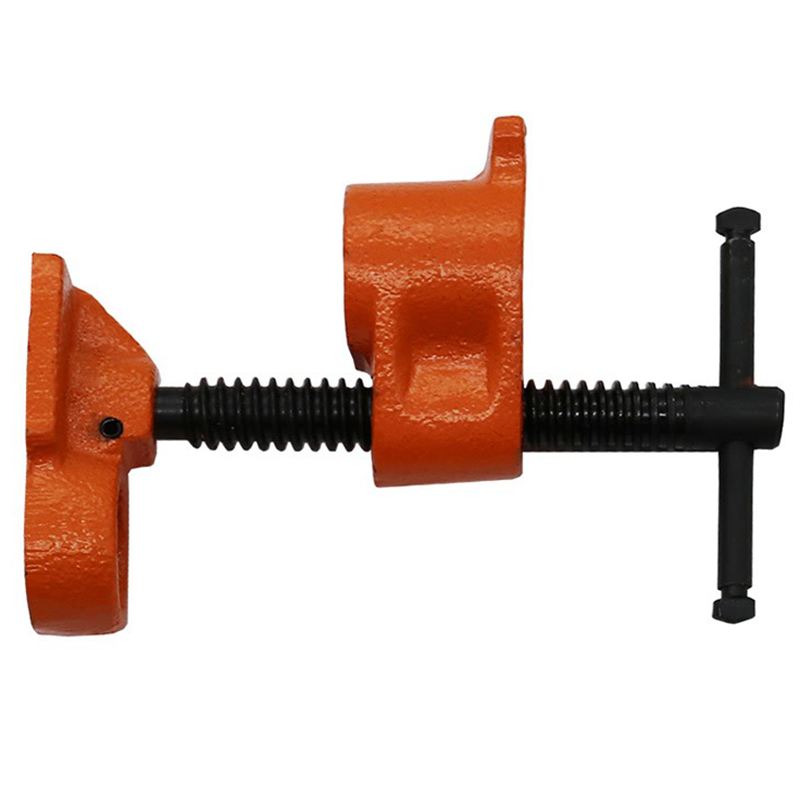 Heavy Duty Pipe Clamp Woodworking Wood Gluing Pipe Clamp Pipe Clamp Fixture Carpenter Woodworking Tools carpenter s c clamp fixed fixture clip forged steel rocker clamp woodworking tools