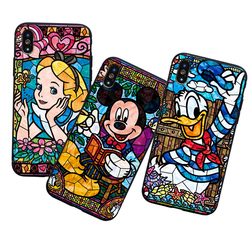 Pooh Fairy Tattoo Alice Mickey Mouse Deluxe TPU Rubber Phone Case iPhone 8 7 6 6s Plus X 5 5s SE XS XR XS MAX cover 3