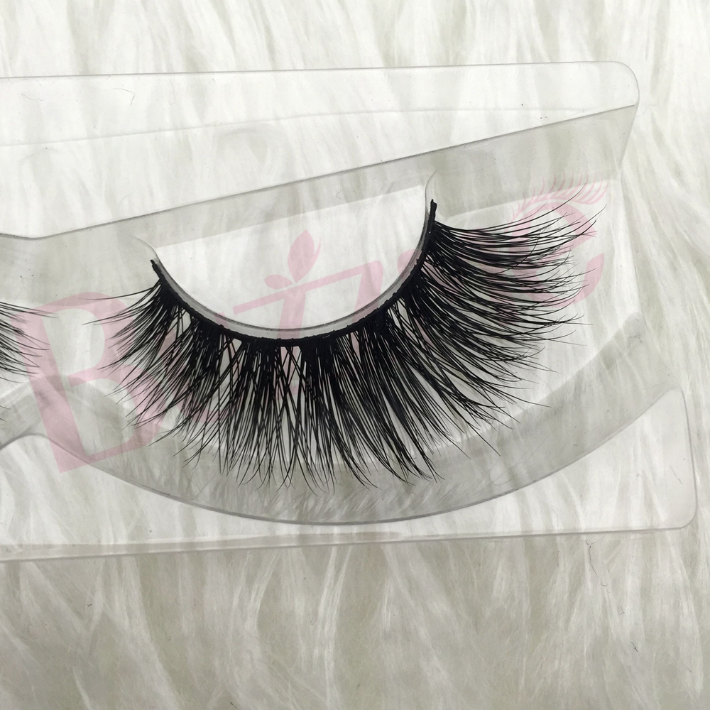 wholesale Free shipping luxe 100 real siberian mink strip eyelashes faux 3D mink lashes