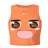 Summer Womens Crop Tops 3d Animal Hamster Sexy Women Tank Top Cropped Fitness Boby T Shirt