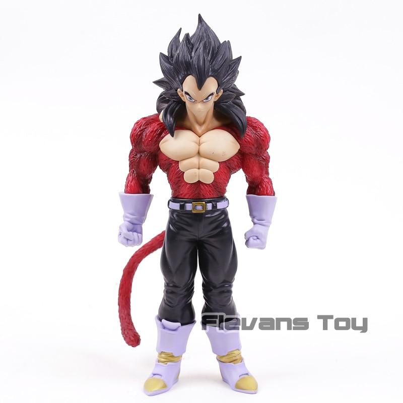 Dragon Ball GT Super Saiyan 4 Vegeta PVC Figure Dragon Ball SS4 Collectible Model Toy
