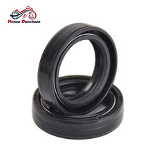 1 pair 35x48x11mm Motorcycle Front Fork Damper Oil Seal , Nitrile Rubber Shock Absorber Scooter motorcycle front shock absorber construction js125 6b