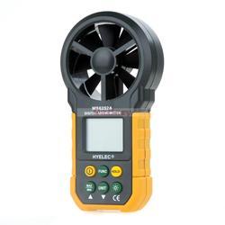 Hyelec Ms6252a wielofunkcyjny multimetr cyfrowy praktyczne anemometr cyfrowy miernik objętości powietrza miernik wilgotności multimetr cyfrowy w Części i akcesoria do instrumentów od Narzędzia na