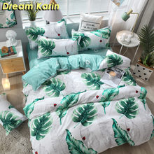 Home Textile Brief Duvet Covers Set Nordic Bedding Sets with Pillowcase Fitted Bed Sheets Single Double Queen King Bedclothes(China)