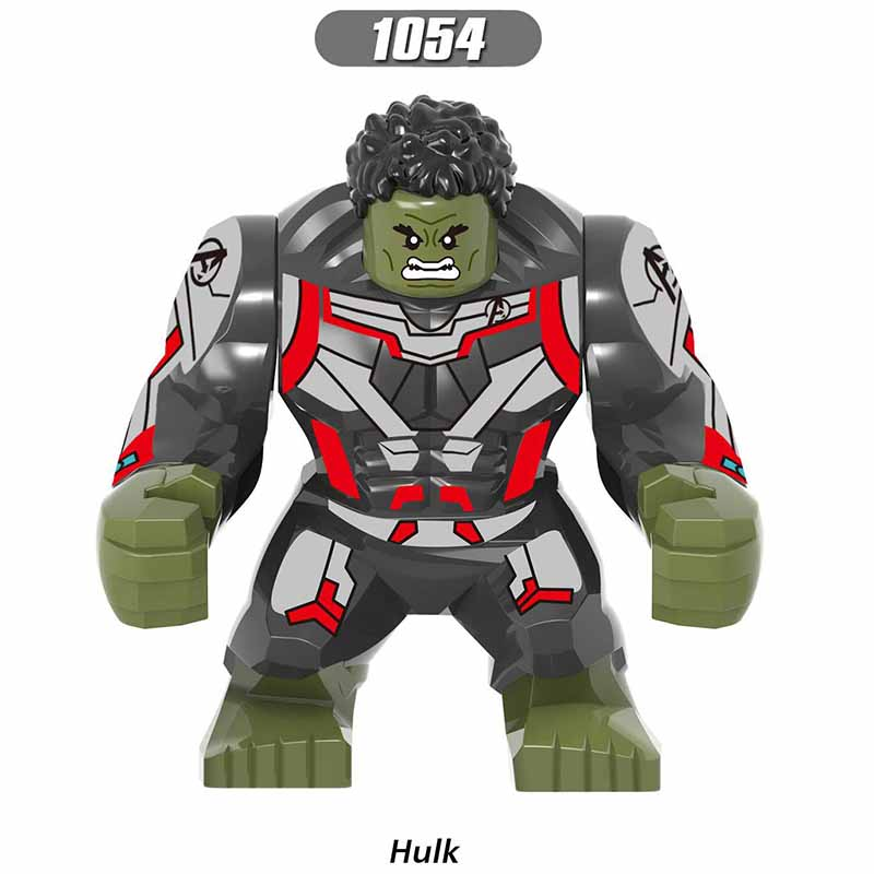 LegoINGlys Avengers 4 End Game Big Venom Riot Hulk Thanos Building Blocks Action Figures For Children Collection Toys Gifts
