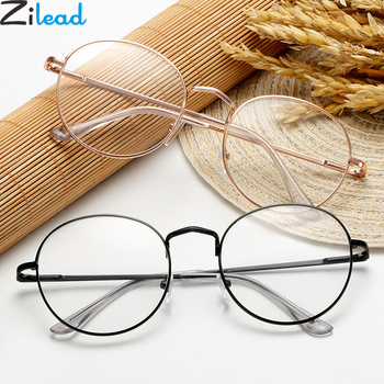 Zilead Metal Oval Finished Myopia Glasses For Women&Men Shortsighted Prescription Eyeglasses Nearsighted Eyewear0to-4.0 richard edwards nearsighted