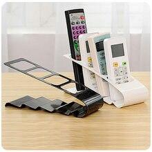 Hohe Qualität Eisen Halter Rack für TV DVD VCR Step Fernbedienung Handy Halter Stehen Lagerung Organizer 4 Grid -30