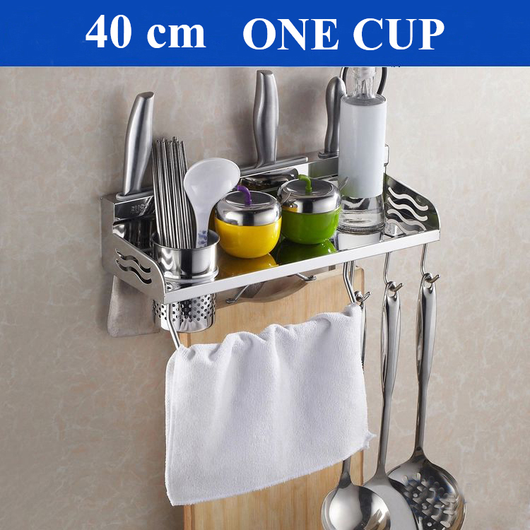 Nice 40cm Multi function Storage Rack font b Knife b font Chopping Block Holder including a