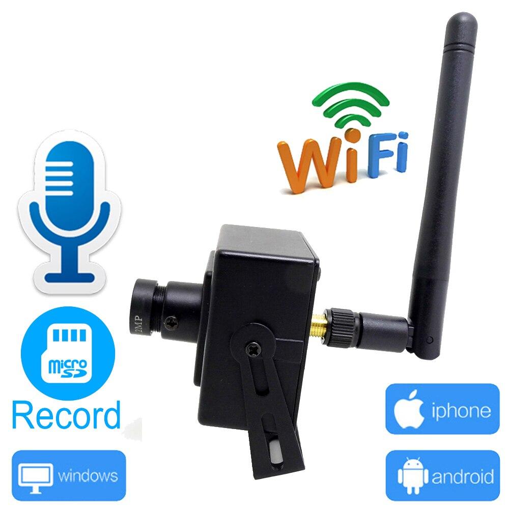 JIENU Mini Câmera wi-fi 720 P 960 P 1080 P CCTV Segurança Vigilância Áudio Apoio Slot Para CARTÃO Micro SD Sem Fio Ipcam pequena casa IP Cam