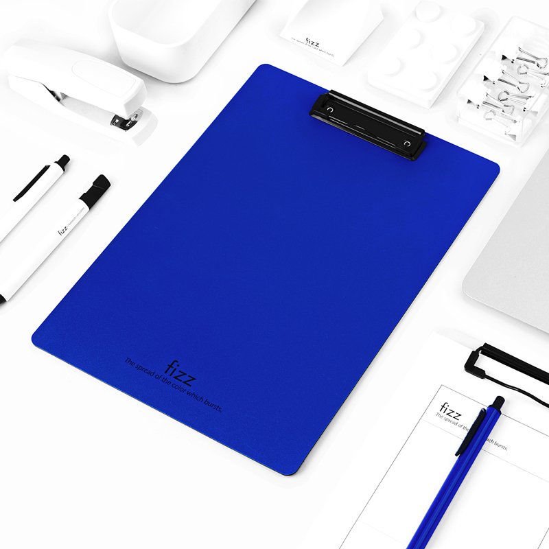 A4 High Quality Plastic Writing Board with Clip File Folder Writing Pad File School and Office Supplies