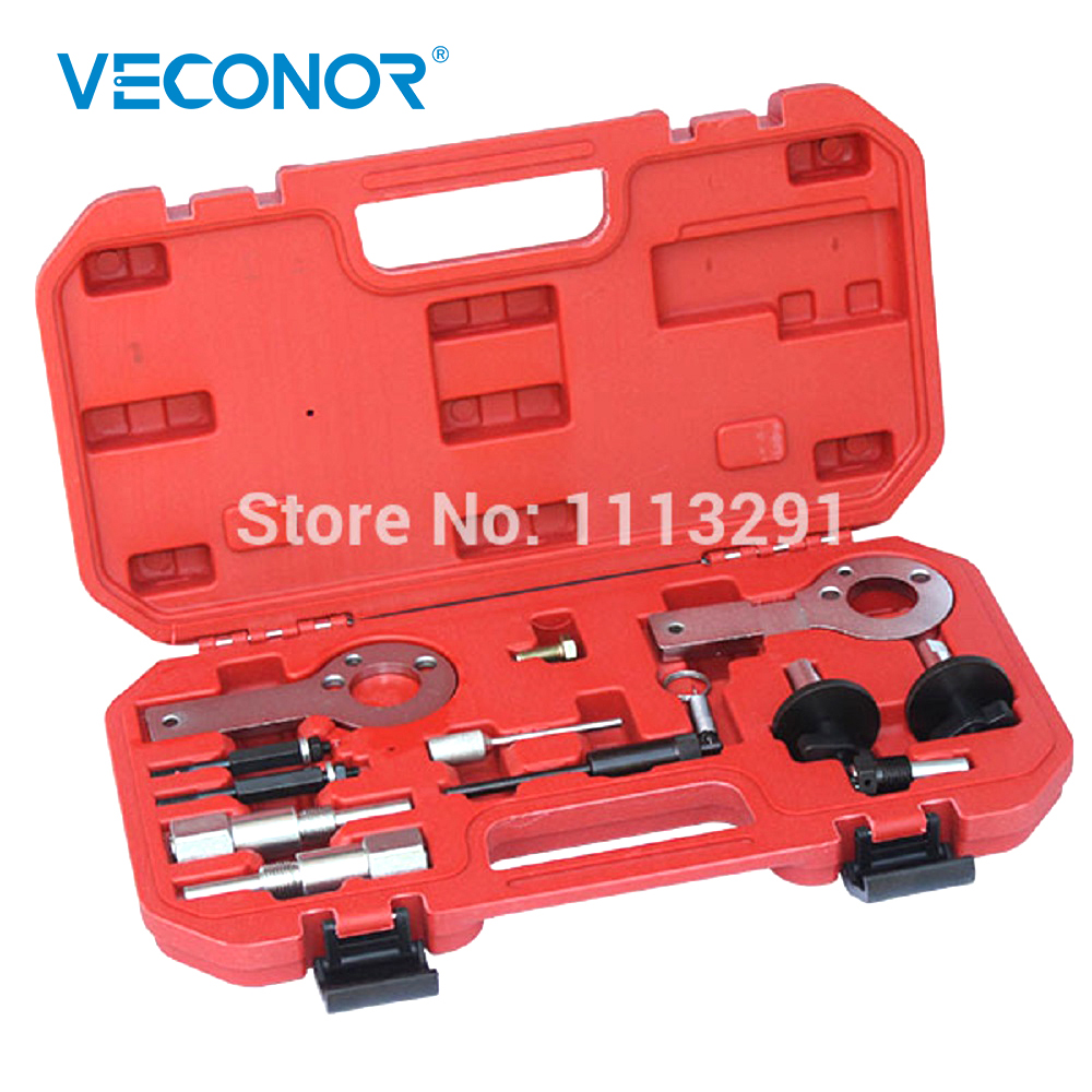 Veconor 12PCS Engine Timing Tool Kit Set For Fiat Vauxhall Opel 1.3 1.9 CDTI NEW (15-19) Belt Replacement Kit hot selling universal diesel engine timing belt locking tool set for opel for vauxhall auto repair tools