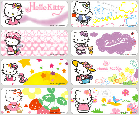 72pcs lot waterproof and dishwasher safe hello kitty name tag