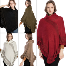 Best Selling Acrylic Five-Color Cape Soft Imitation Cashmere Fringed Shawl Spring Summer And Autumn Womens Clothing