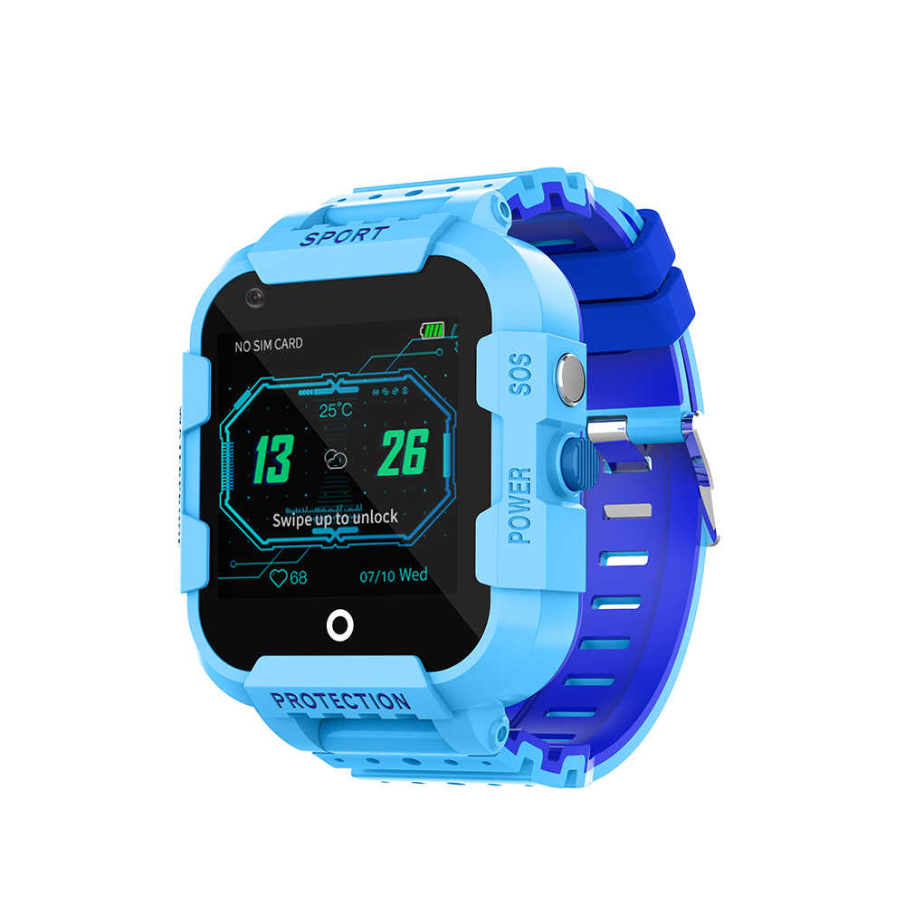 DF39 Kids GPS tracker watch 4G smart watches GPS LBS WIFI location SOS call 1.44' Camera children tracking clock gift
