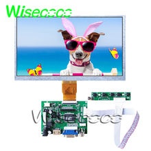 New 9''inch LCD Display  Screen TFT Monitor AT090TN12 HDMI VGA Controller Board Input Driver  Raspberry Pi цена и фото