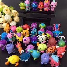 30/50/100 pçs/lote animais dos desenhos animados ovo bonecas voar cavalo peixe incubação mágica miniatura figuras de ação mini pet shop bonecas crianças brinquedos