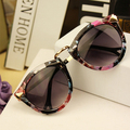 New Summer Women Sunglasses Arrow Style Female Glasses Metal Frame Round Sun Glasses