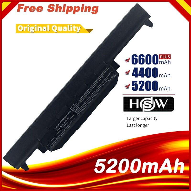 Laptop Battery FOR Asus  X75A X75V X75VD X45VD X45V X45U X45C X45A U57VM U57A X55U X55C X55A A32-K55 X55V X55VD
