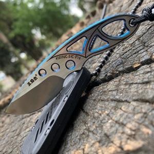 Image 2 - Sanrenmu 4101 Pocket Knife 12c27 Steel Outdoors Portable Mini Pocket Camping Edc Rescue Survival Tool Stiletto Utility Knife